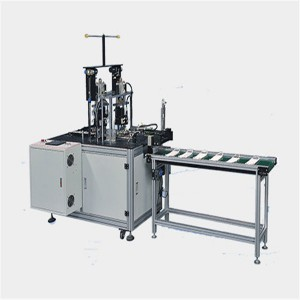 5500*3500*1600mm 99% 10kw Face Mask Production Line Single Man Operation