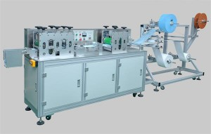High Speed Automatic Feeding Face Mask Manufacturing Machine