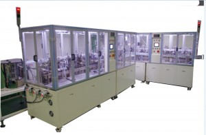 1200 / Hour 800W Riveting Reed Contact Armature Assembly Machine