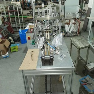Well-designed Mask Body Making Machine - 1230*620*1500mm Ear Loop Welding Machine For N95 And Flat Face Mask – Frand