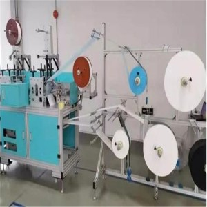 Factory Cheap Hot Disposable Face Mask Making Machine - 220V 1 Phase 6MPA Automatic Medical Mask Making Machine – Frand