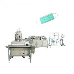 Fully Automatic Disposable Nonwoven 3 Layer Face Mask Machine