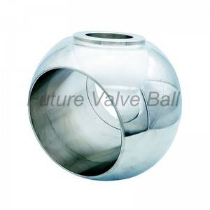 Trunnion ball QC-T07