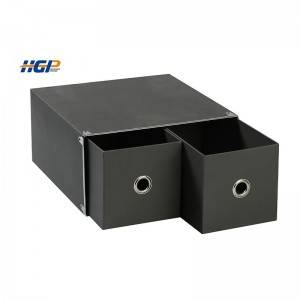 China Wholesale Small Paper Bags Factory - cardboard grey drawer paper storage box of underwear – Huaguang