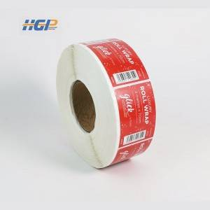 Waterproof, light film or matte printing stickers bottle labels with rolls