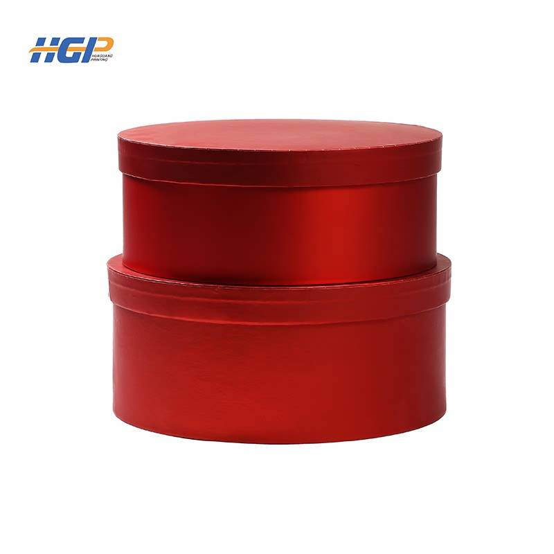 China Wholesale Shipping Cardboard Boxes Suppliers - Customized  round shape gift box with high quality set box – Huaguang