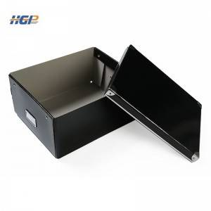 Office or home paper storage box with large capacity can be folded