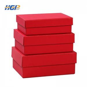 Fancy new products retail recycled professional printing fine gloss empty gift packaging box