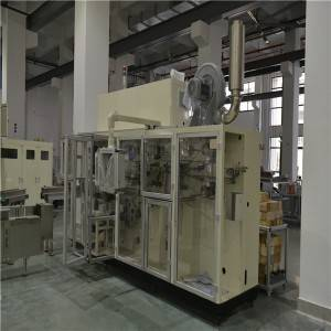 Servo Motion High Speed 2900KG 14KW Sanitary Napkin Counting Stacker