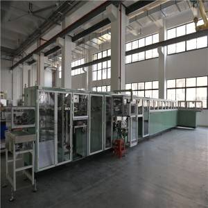 2900KG Sanitary Napkin Pad Making Machine For Ultra Thin Sanitary Pads