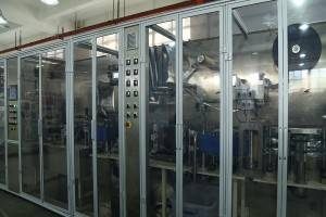 High speed automatic face mask making machine GM088M Production efficiency ≥95%