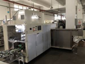 Full Auto Instant Noodle Production Line 20.5Kw Power Single Row Specification