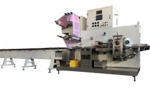 Pillow Type Packaging Machine 7.5m* 1.6m*1.8m General Linear Servo Driving System