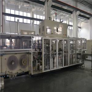Three Phase Four Cables 50 Bags/Min Wet Tissue Packing Machine