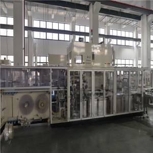 Automatic Single Bag Or Two Bags 19KW Wet Wipes Production Line