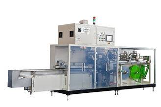 CE Full Servo Sanitary Napkin Panty Liner Packaging Machine Mitsubishi PLC