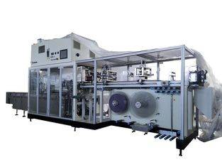 Gachn Technology Bag Making Sanitary Pads Packing Machine 17KW Install Power