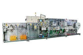 High speed Wet Wipes Production Line full auto full servo CE ans ISO Certificate