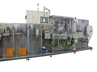High Speed Singel Piece Wet Wipes Making Machine Gachn Full Servo