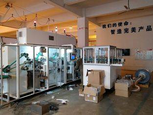 High speed sanitary napkin and panty liner pads counting stacking machine