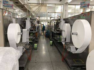 Single Piece Wet Wipes Production Line Full Servo Motor  ISO Certification