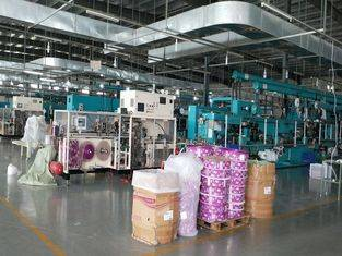 Hight Speed Panty Liner Packaging Machine L6.3m×W1.5m×H2.0m Three Size Dimension