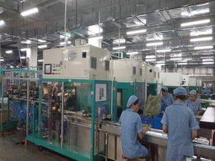 CKD Full Servo Sanitary Napkin Production Line  CE and ISO9000 Certification Featured Image
