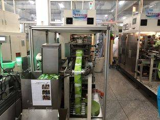 High Speed Rolling Film Bag Wet Tissue Maker 14Kw Installation Power