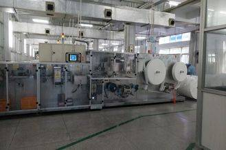 Full Automatic Wet Wipes Production Line 300 Piece Every Minute Width 40-100mm