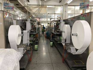CE and ISO Wet Wipes Production Machine Protable And Family Use