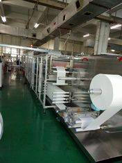 CE Wet Wipes Production Line 19KW Wet Installation Power Full servo motor
