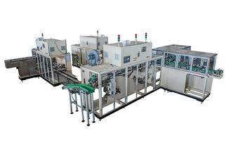 High speed sanitary napkin and panty liner pads belt type counting and stacking machine