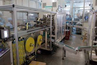 Mini Type Wet Napkin Paper Packing Machine Full servo Weight ≤ 4000kg