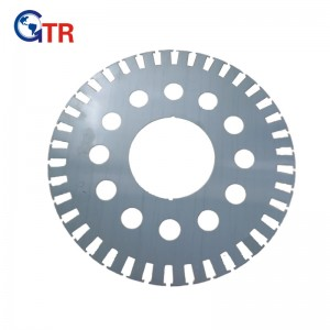 Rotor lamination for Rail Transportation Motor