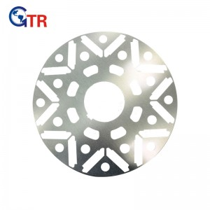 Factory making Rotor Core Slots - Rotor stamping for Rail Transportation Motor – Gator
