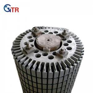 Wind power rotor core