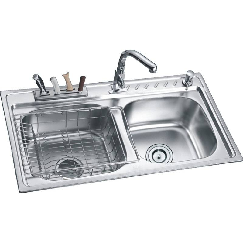 Sinks - Double Bowls Without Panel DE8547 – Jiawang
