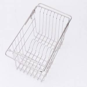 18 Years Factory Double Layer Glass Shelf - Flexible basket 2 – Jiawang