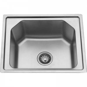One of Hottest for Steel Sink - Single Bowl without Panel GE5243 – Jiawang