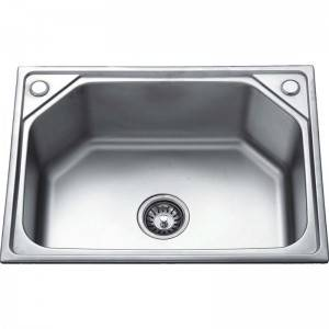 Solid Surface Sink - Single Bowl without Panel GE6145 – Jiawang