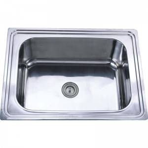 18 Years Factory Double Bowl Kitchen Sink - Single Bowl without Panel GE6248 – Jiawang