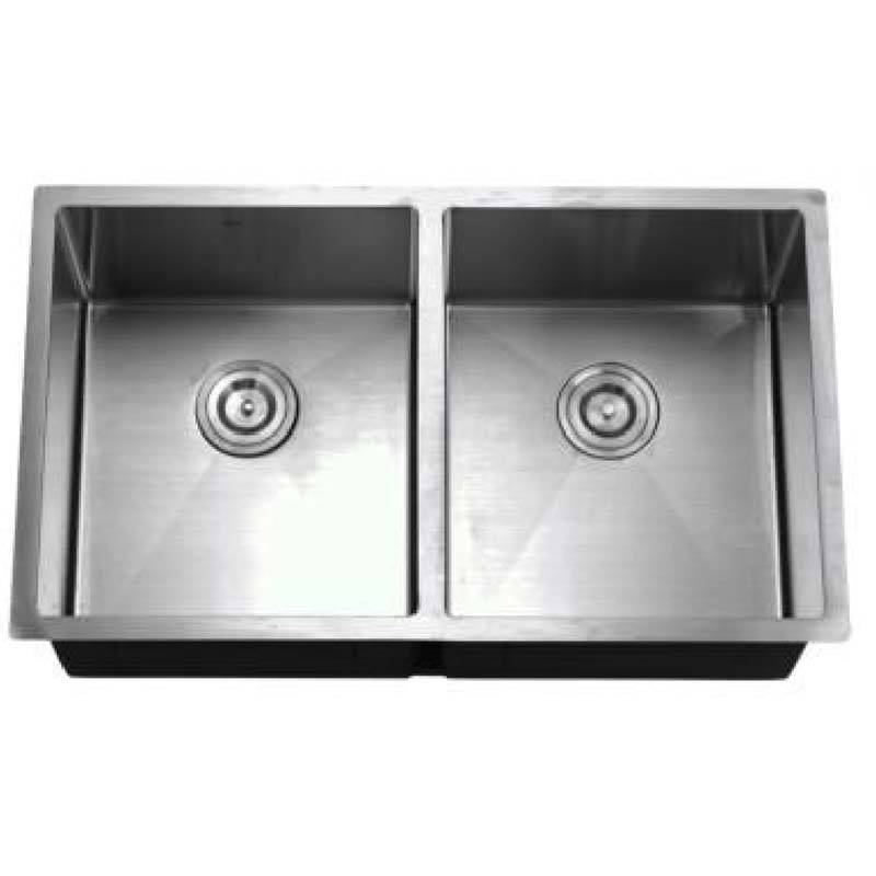 Commercial Kitchen Sink - Double Bowls without Panel HM8148ABC – Jiawang