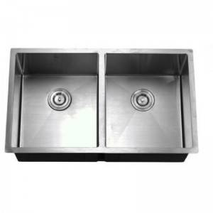 OEM/ODM Manufacturer Wash Sink - Double Bowls without Panel HM8446 ABC – Jiawang