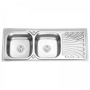Double Bowls With Panel JW12050