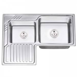 Double Bowls With Panel JW8670