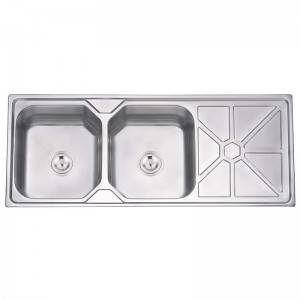 Double Bowls With Panel KH12050