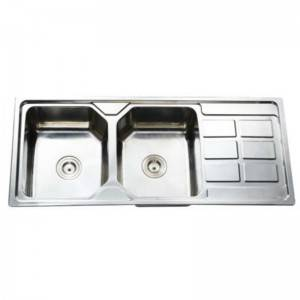 Double Bowls With Panel KS11650