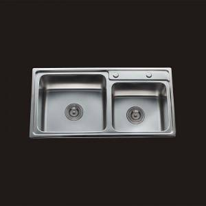 Double Bowls without Panel RDE8243