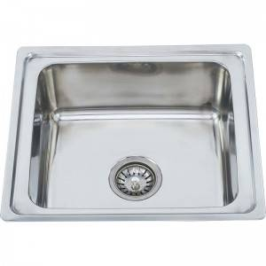 Short Lead Time for Kitchen Sink Items - Single Bowl without Panel RE4842 – Jiawang