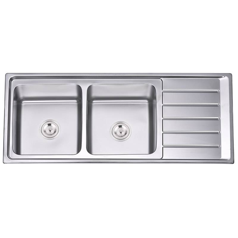 Sink Mixer - Double Bowls With Panel RS12050 – Jiawang